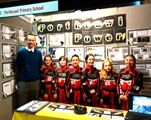 Porthcawl Primary F1 Challenge team