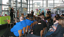 Science Week launch at the Sennedd